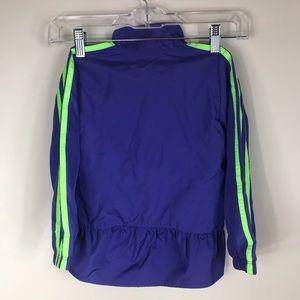 adidas Jackets & Coats - ADIDAS | Girls Peplum Windbreaker Jacket
